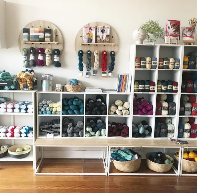 Fibresmith fabric and yarn store in Yarraville