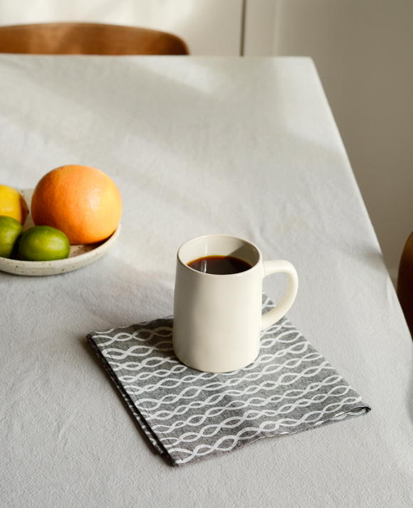 Chambray linen napkins from Cotton & Flax