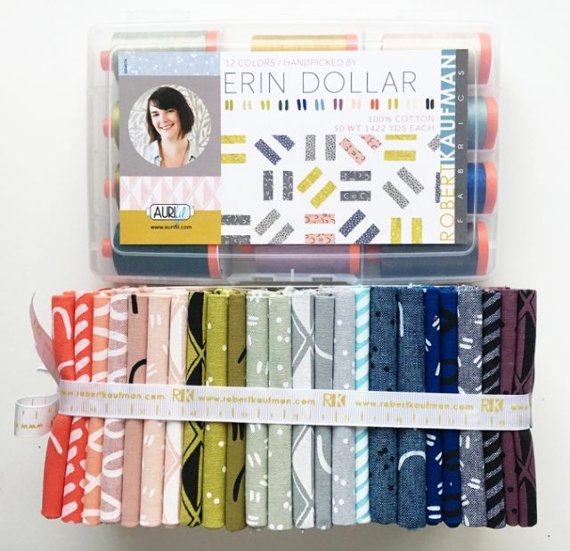 Aurifil thread Arroyo fabric giveaway