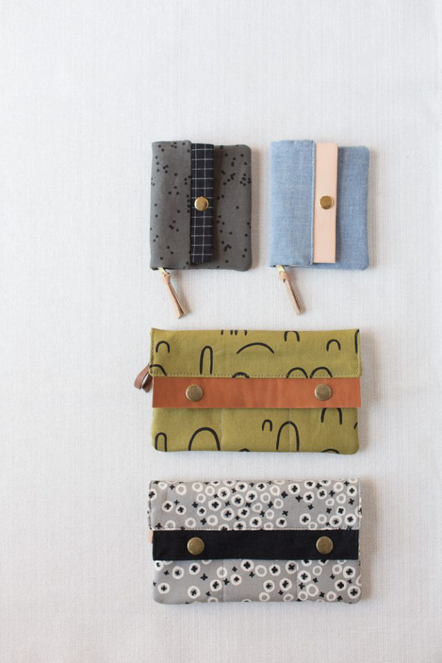 Arroyo wallet - Cotton & Flax