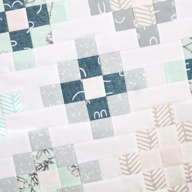 Modern Quilt made with Arroyo