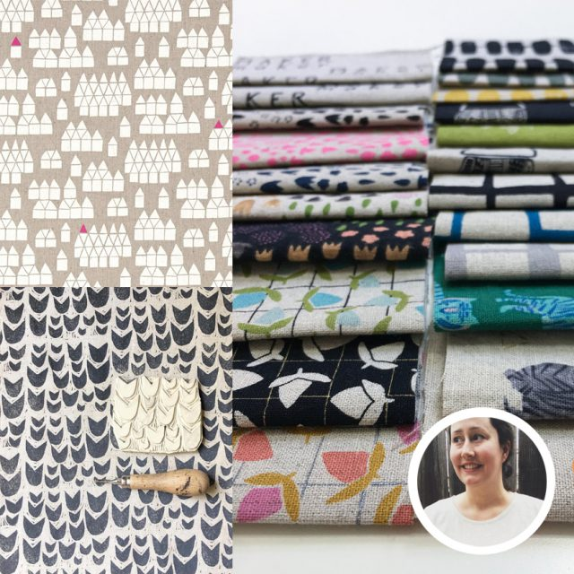 Sarah Golden fabric designs