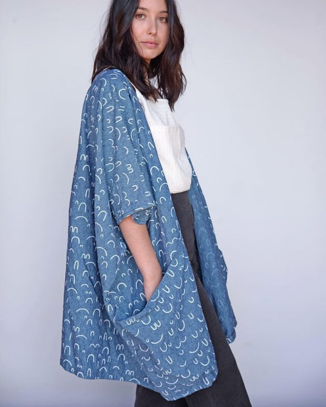 Formation Design Studio kimono - Made with Arroyo Fabric