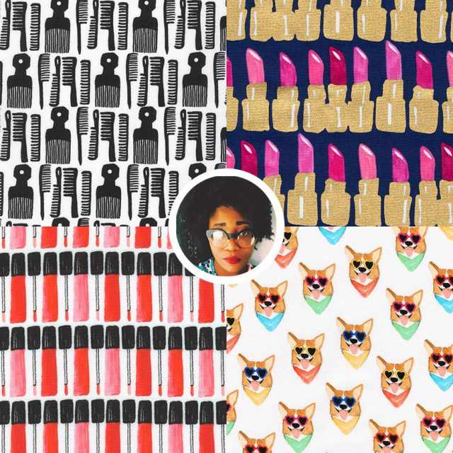 Fabric Designers to know: Kendra Dandy - Bouffants and Broken Hearts