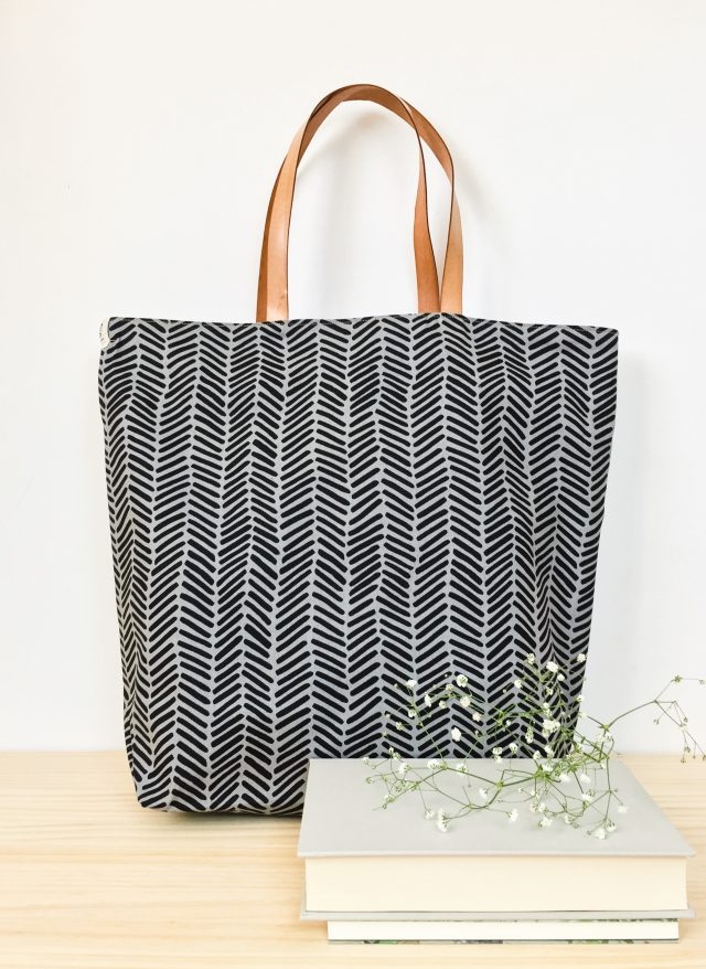 Tocs Tote Bag made with Arroyo Fabric