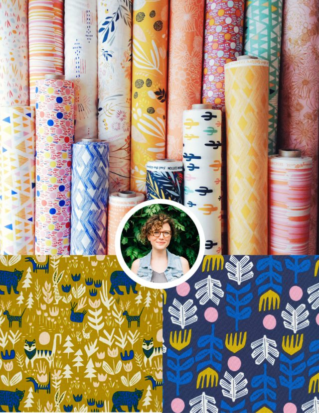 Leah Duncan - Fabric designer to know
