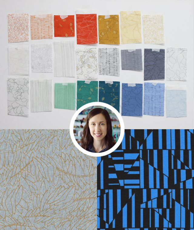 Notable fabric designer: Carolyn Friedlander