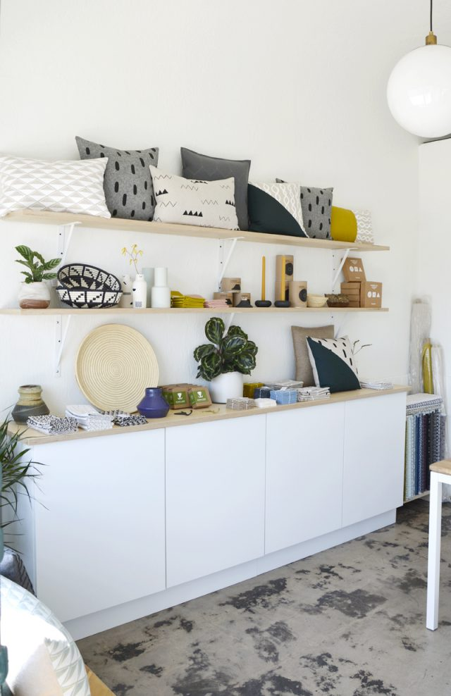 Cotton & Flax retail shop in San Diego