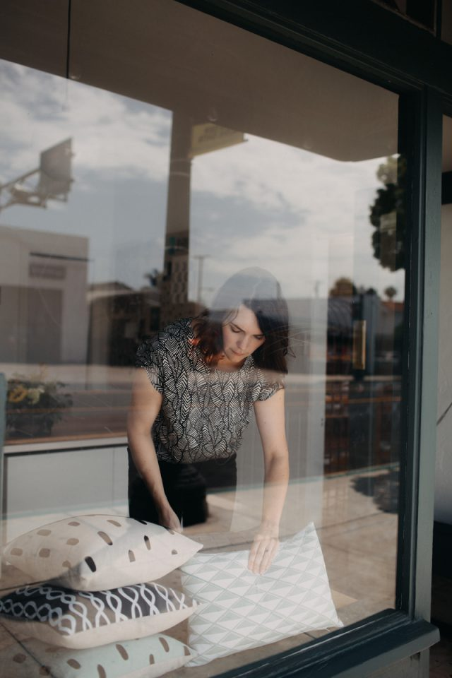 Cotton & Flax - new retail shop in San Diego from designer Erin Dollar