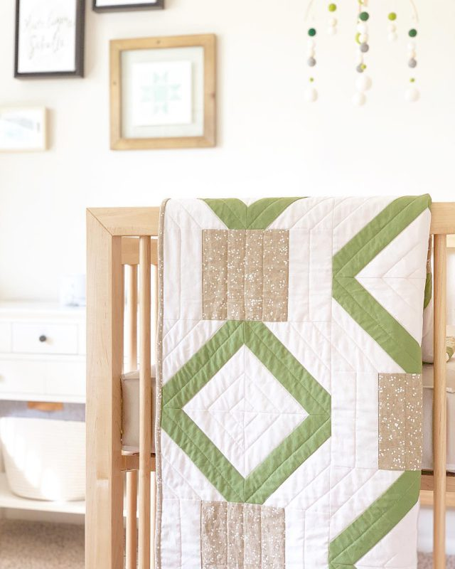 Sewn Handmade Quilt - made with Balboa Fabric